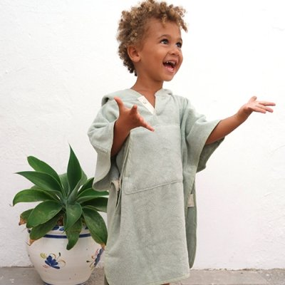Toddler Cape Green Pastel 4
