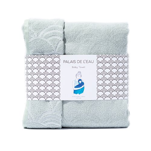 Baby Towel Green Pastel 5