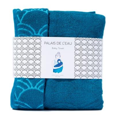 Baby Towel Petrol 1