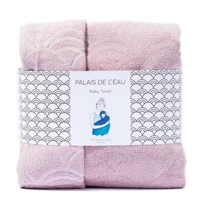 Baby Towel Vintage Pink 1
