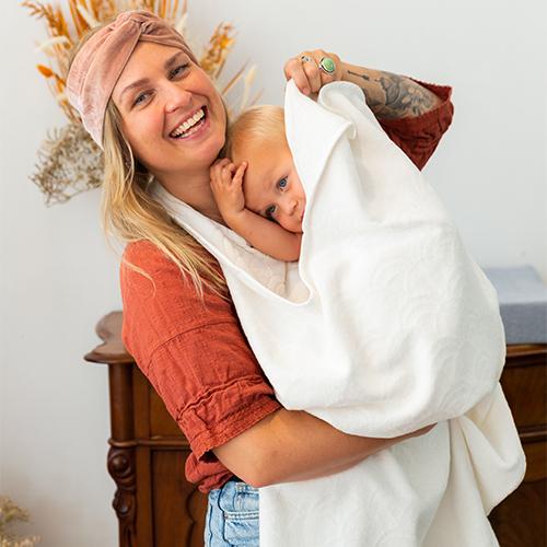 Baby Towel White 1