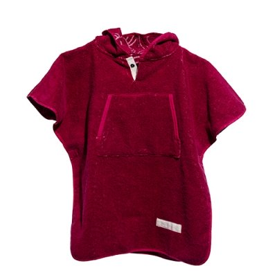 Toddler Cape Cerise 1