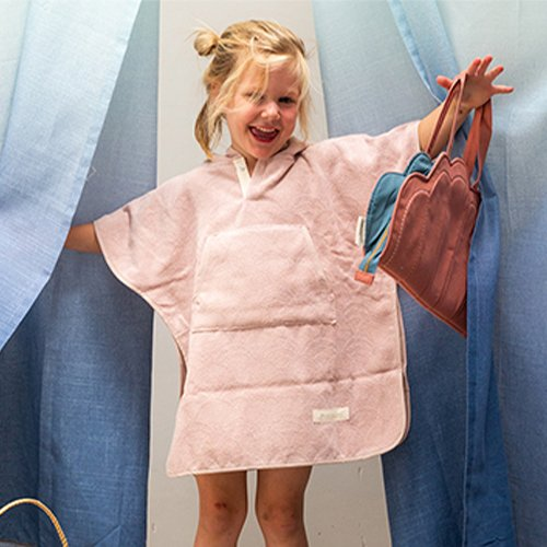 Toddler Cape Vintage Pink 1