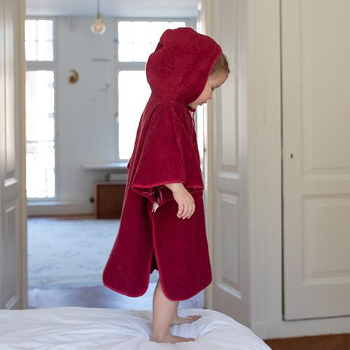 Toddler Cape Cerise 3