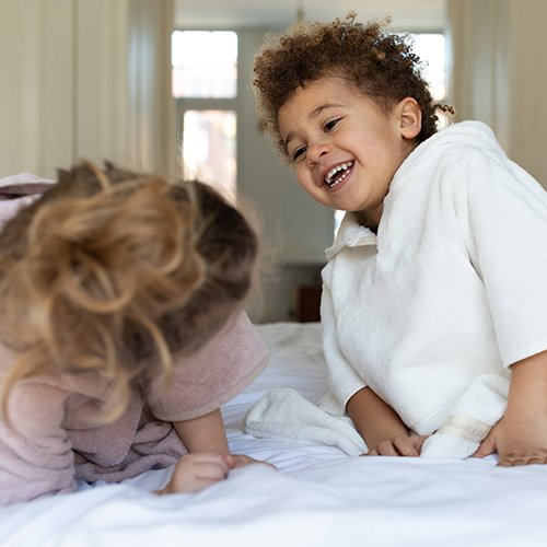 Toddler Cape White 3