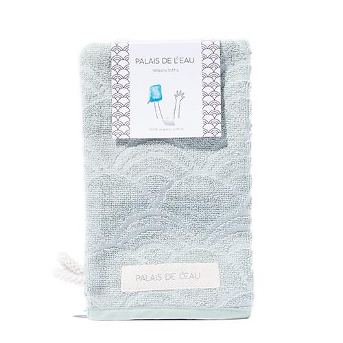 Washcloths Pastel Green 3