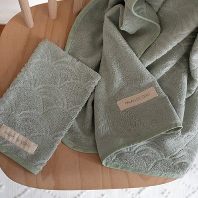 Washcloths Pastel Green 3