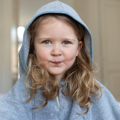 Toddler Cape Recycled Denim 1