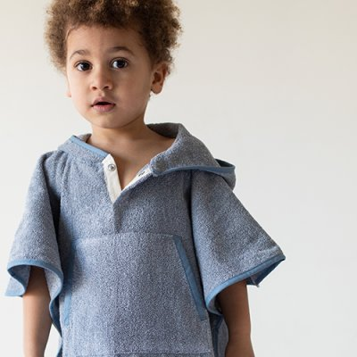 Toddler Cape Recycled Denim 2