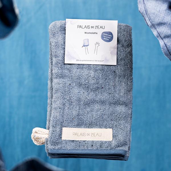 Washcloths Recycled Denim 1