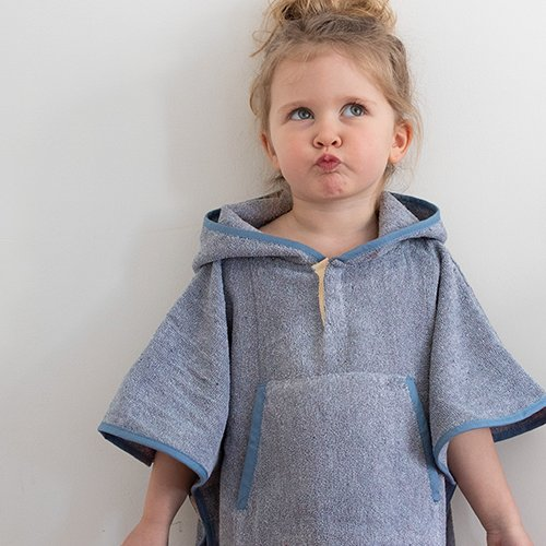 Toddler Cape Recycled Denim 3