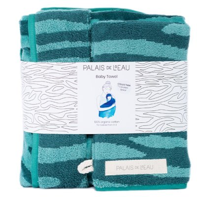 Baby Towel Minty Green 5