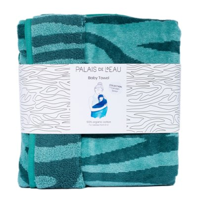 Baby Towel Minty Green 1