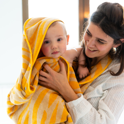 Baby Towel Sunrise Orange 5