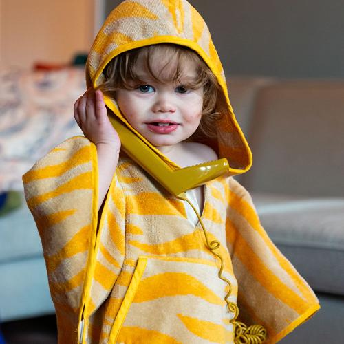 Toddler Cape Sunrise Orange 1