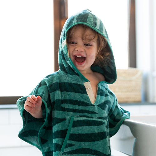 Toddler Cape Minty Green 1